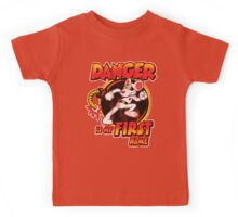 Danger is my First Name Kids Tee