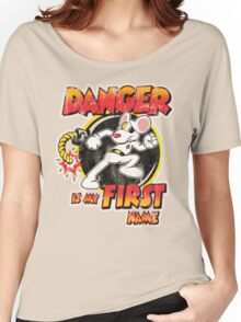 Danger is my First Name Women's Relaxed Fit T-Shirt