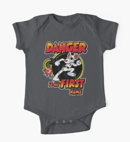 Danger is my First Name One Piece - Short Sleeve