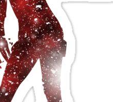 Mass Effect Silhouettes, Jack - Forced Meds? Bust Heads! Sticker