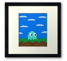 Inky's 2D World Framed Print