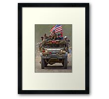 Room For One More On Top - War and Peace Framed Print