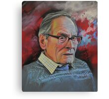Mr Dick Coard Senior Canvas Print