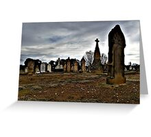 Headstones Greeting Card
