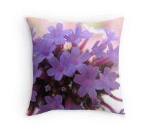 Sneaking a Purple Peek Throw Pillow