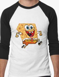 Spongebob Reflects his Environment  Men's Baseball ¾ T-Shirt