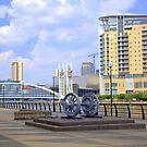 Salford Quays in Manchester by Debu55y