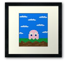 Pinky's 2D World Framed Print