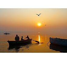 The Holy Ganga at Varanasi #3 Photographic Print