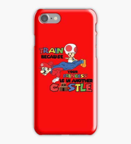 Mario Trains because iPhone Case/Skin