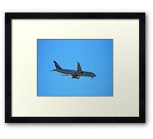 Boeing 787 Dream Liner Framed Print