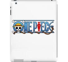 One Piece logo iPad Case/Skin