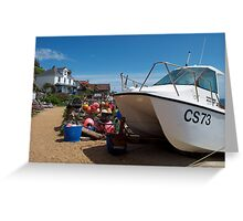 Steephill Cove, Isle of Wight Greeting Card