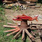 red fish by Dave Bradley