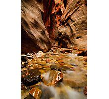 Kanarra Creek Slot Canyon Photographic Print