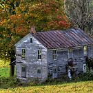 Fall At The Forgotten Farmhouse by Gene Walls