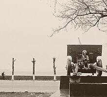 Emptiness. Echo of the war. by Vanger