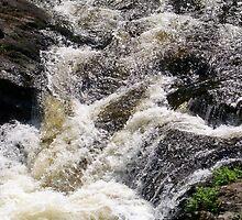 Moxie Falls by Dandelion Dilluvio