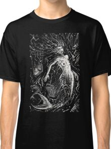 The Mermaids Pollution Torment (for dark background) Classic T-Shirt