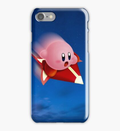 Kirby Rides in the Night iPhone Case/Skin