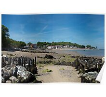 Seagrove Bay, Isle of Wight Poster