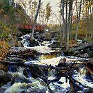 McGillivray Falls 1 by Larry Trupp