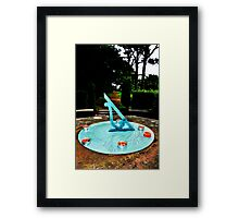 Candles and Dial Framed Print