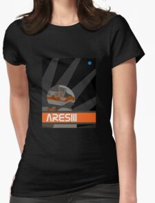 The Martian - Ares III Womens Fitted T-Shirt