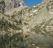 Emerald Lake Rocky Mtn National Park by Luann wilslef