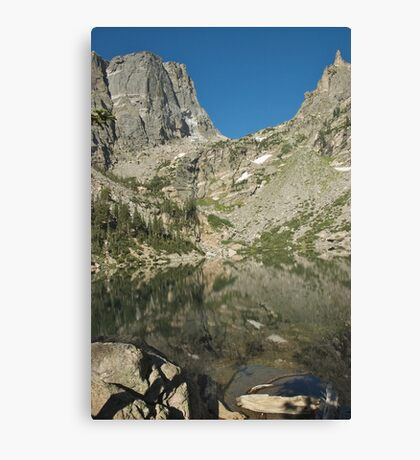 Emerald Lake Rocky Mtn National Park Canvas Print