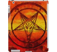 Satanism by Sarah Kirk iPad Case/Skin