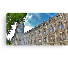 Natural History Museum Exterior Canvas Print