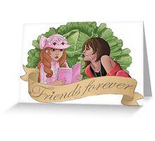 Kamikaze Girls - Friends Forever! Greeting Card