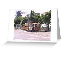Porto Tram City Tour Greeting Card