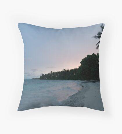 Eneko Island Sunset Throw Pillow