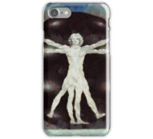 Da Vinci Dude by Sarah Kirk iPhone Case/Skin