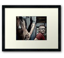 Recharge Framed Print