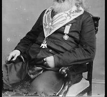 Albert Pike Freemason by lawrencebaird