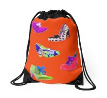 shoes, shoes and more shoes Drawstring Bag