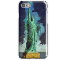 Liberty Stands Alone by Sarah Kirk iPhone Case/Skin