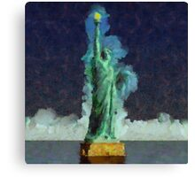 Liberty Stands Alone by Sarah Kirk Canvas Print