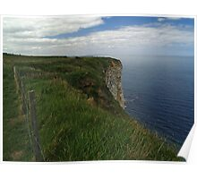 Clifftops Poster