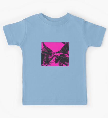 flags blackviolet Kids Tee