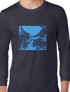 Flags blueblack Long Sleeve T-Shirt
