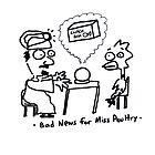 Bad News for Miss Poultry by Ollie Brock
