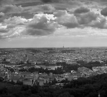 Prague - Panorama -2009 by Luca Tranquilli