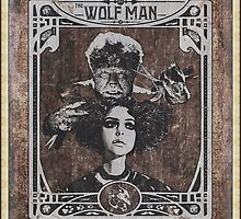 Metamorphosis by The Wolf Man: A Full Service Hair Salon (Old Postcard) by torg