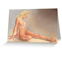 Irina Nude Greeting Card