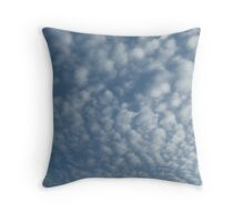 Wall of Clouds Throw Pillow