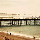 brighton pier by Kim Jackman